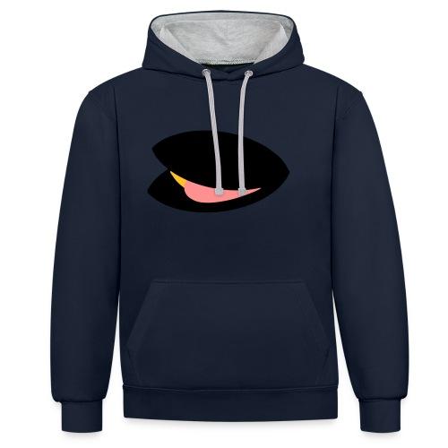 mossel_logo - Contrast hoodie