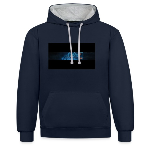 Shirt banner - Contrast hoodie