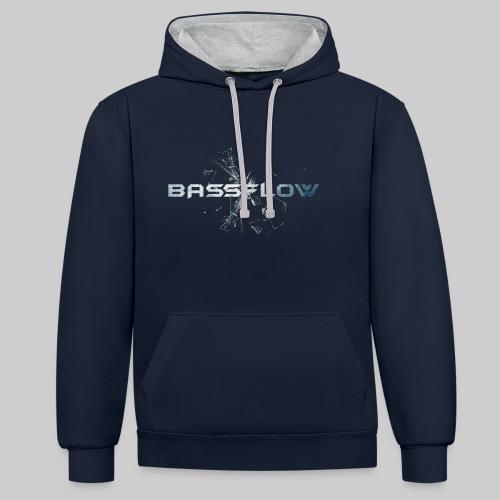 Bassflow Hoodie - Unisex - Contrast hoodie
