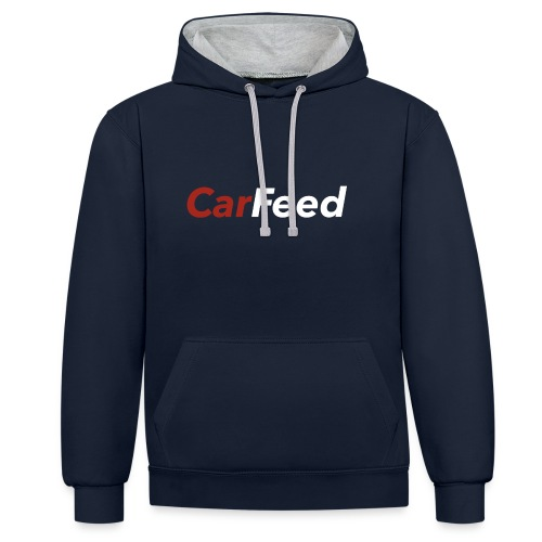 CarFeed - Contrast Colour Hoodie