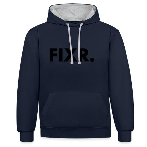 Fixr Shirt Heren - Contrast hoodie
