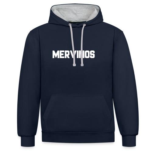 MerVinos - Contrast hoodie