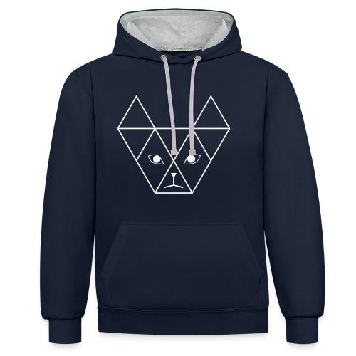 Yani Cat - Contrast hoodie