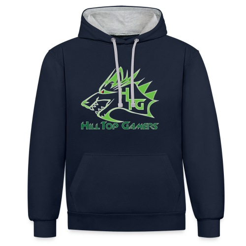 HillTop Gamers - Contrast Colour Hoodie
