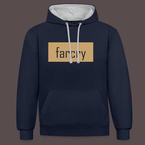 farcryclothing - Kontrast-Hoodie