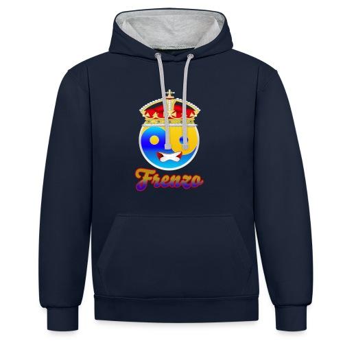 Frenzo crew - Contrast hoodie