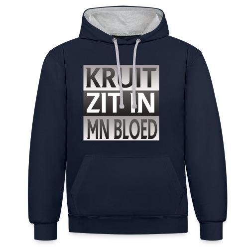 kruit_zit_in_mn_bloed - Contrast hoodie