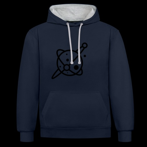 Martian Galaxy - Contrast Colour Hoodie