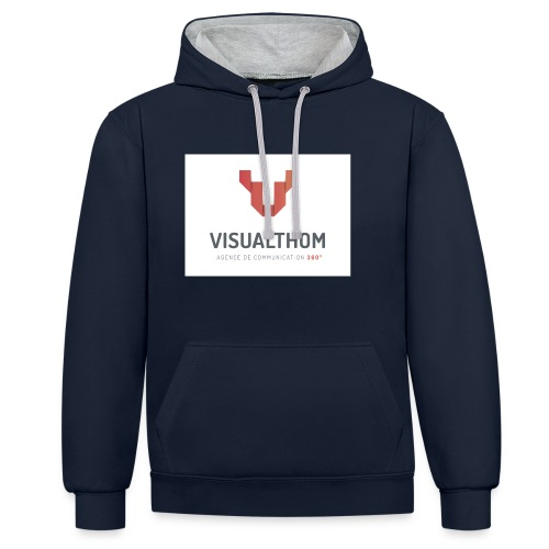 logo-visualthom - Sweat-shirt contraste