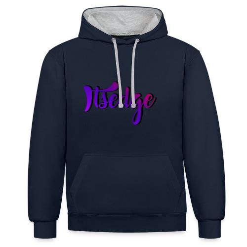 ItsEdge Signature Purple - Contrast Colour Hoodie