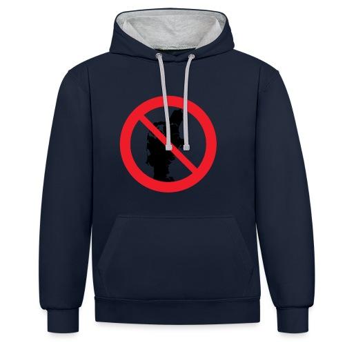 Jylland forbudt - Kontrast-hættetrøje