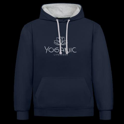 Yoganic Lifewear Basic - Kontrast-Hoodie