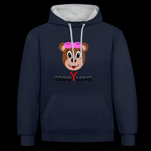 TEDDYLOVE Woman - Kontrast-Hoodie