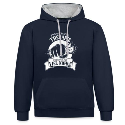 Geiz T-Shirt - Kontrast-Hoodie