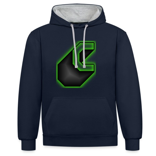 cooltext183647126996434 - Contrast hoodie