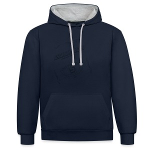 The Stealthless Game with Family Dark - Contrast Colour Hoodie