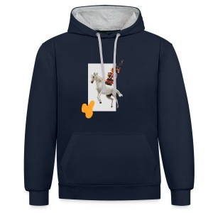 Horse - Contrast Colour Hoodie