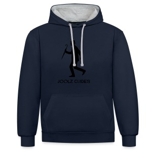 Joolz Guides Merchandise Black logo - Contrast Colour Hoodie