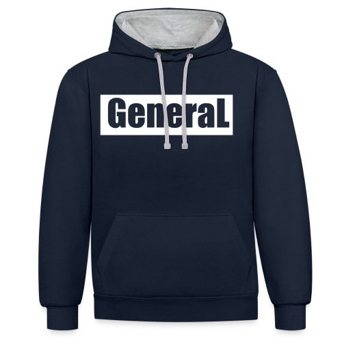 General - Sweat-shirt contraste