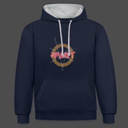 Javascript metal t-shirt - Contrast hoodie
