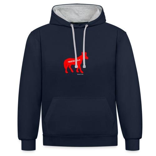 Moscow Mule Limited Edition - Felpa con cappuccio bicromatica