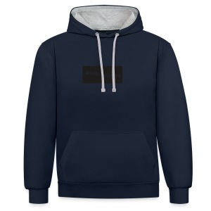 logo_merch - Contrast Colour Hoodie