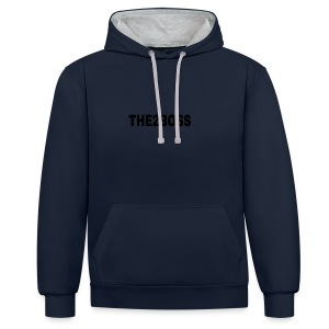The2Boss Logga - Contrast Colour Hoodie