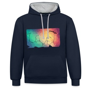 Level- design - Lowpoly - Contrast Colour Hoodie