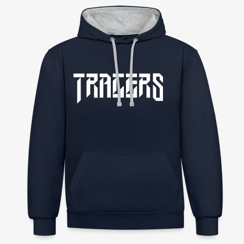 Tracers Blanc - Sweat-shirt contraste