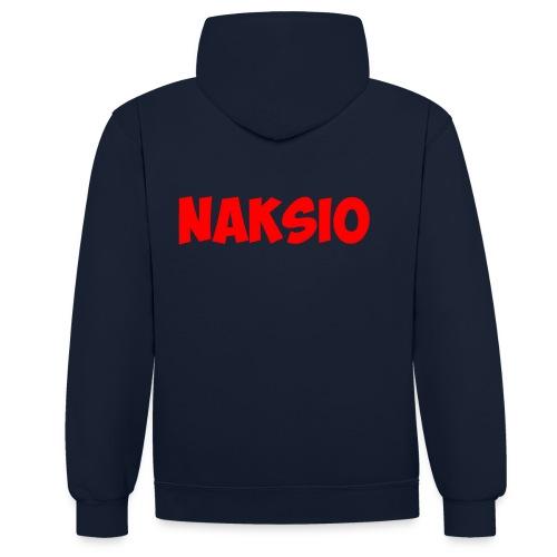T-shirt NAKSIO - Sweat-shirt contraste