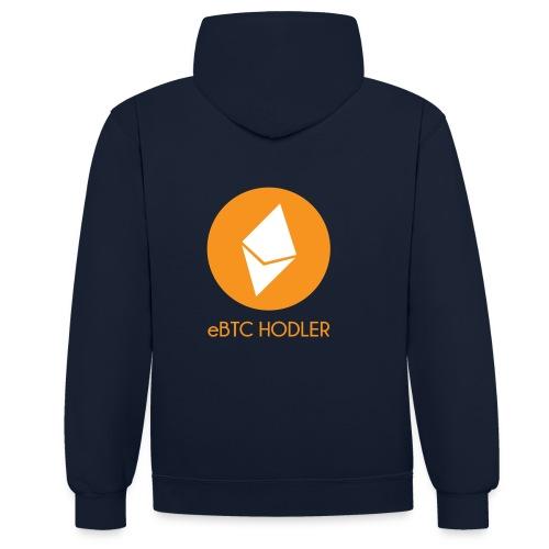 eBTC Hodler - Sweat-shirt contraste
