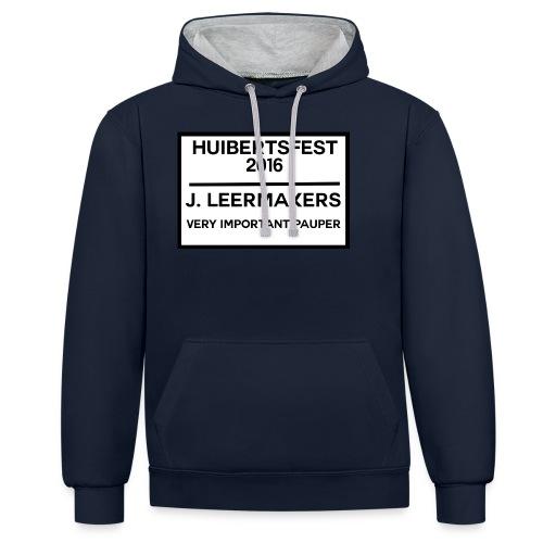 Huibertsfest - Contrast hoodie