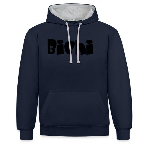 bichi camiseta - Sudadera con capucha en contraste