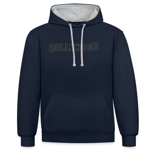 Hollyweed shirt - Sweat-shirt contraste