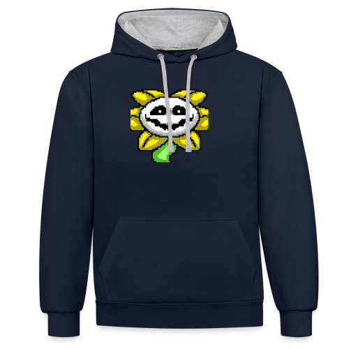 flowey_the_flower - Kontrast-hettegenser