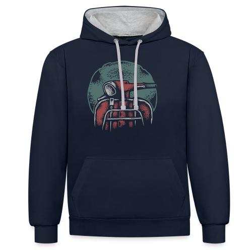 Classic ride - Contrast Colour Hoodie