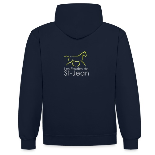Ecuries de St Jean - Sweat-shirt contraste