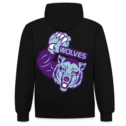 Wolves Basketball - Sweat-shirt contraste