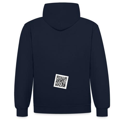 static qr code without logo jpg - Kontrast-Hoodie