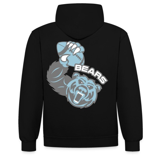 Bears Rugby - Sweat-shirt contraste