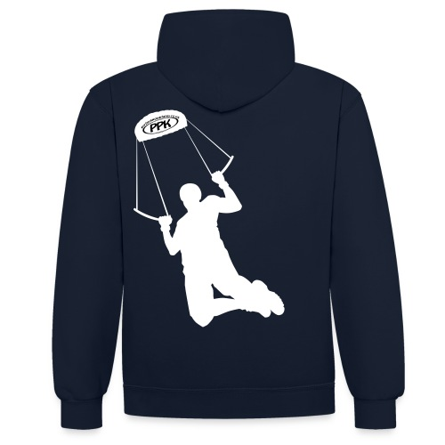 Vector2 - Contrast Colour Hoodie