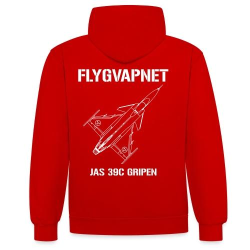 FLYGVAPNET - JAS 39C - Kontrastluvtröja
