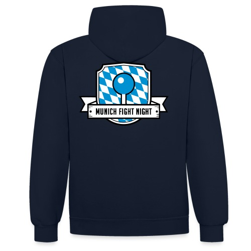 MFN Logo - Kontrast-Hoodie