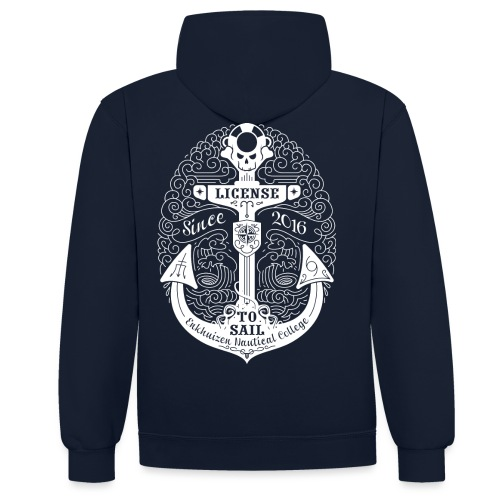 License to Sail 2016 - Contrast hoodie