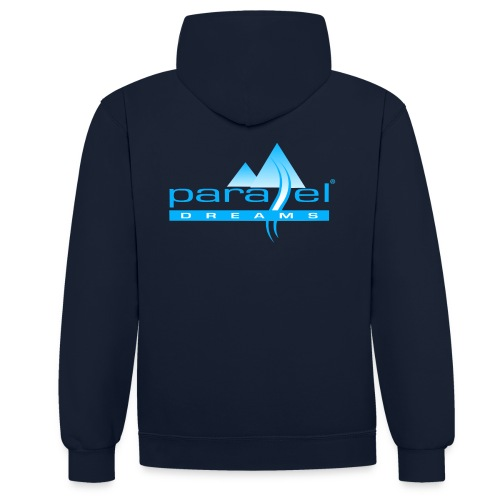 pd trans 1 copy 2 png - Contrast Colour Hoodie