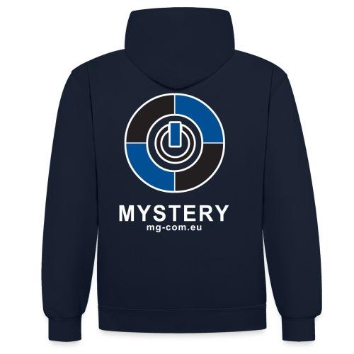 Mystery Logo v3 png - Kontrast-Hoodie