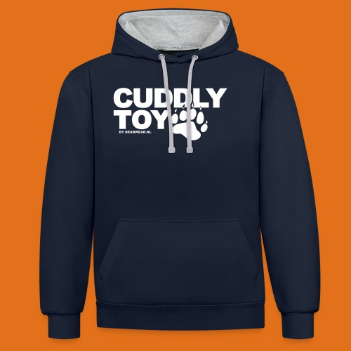 cuddly toy new - Contrast Colour Hoodie