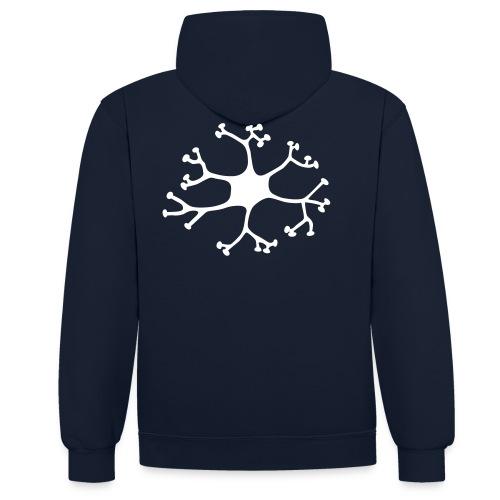Neuron - Kontrast-Hoodie
