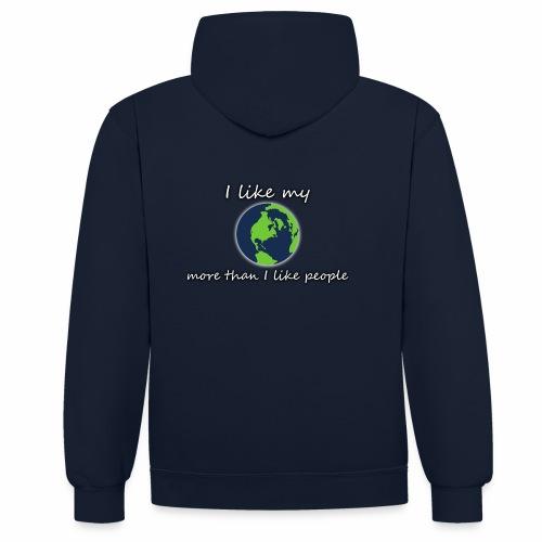 Terre PLANET CRYM planetcontest - Sweat-shirt contraste