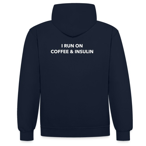 I Run on Coffee & Insulin v2 - Kontrastihuppari
